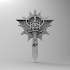 Download free 3D printer files Deathwing Icon, KrackendoorStudios