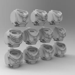 untitled.372.jpg Download free STL file Black Templars Primaris Torsos • 3D printing model, KrackendoorStudios