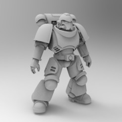 Download free 3D print files Primaris Marine Full, KrackendoorStudios