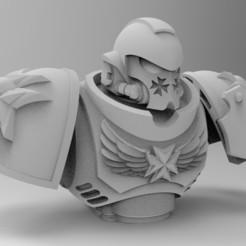 Descargar diseños 3D gratis Conjunto de templarios negros de Primaris, KrackendoorStudios