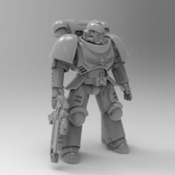 Download free 3D printing models Primaris Marine Poseable, KrackendoorStudios