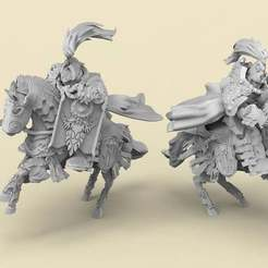 Royals.1.jpg Download free STL file Royal Guard Mounted - Classic • Design to 3D print, AtlanForge