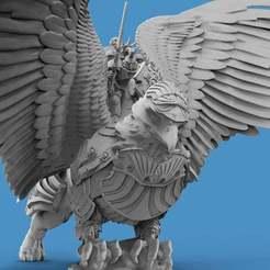 Griffin.6.jpg Download free STL file Griffin Knight - Ceremonial • 3D printer design, AtlanForge