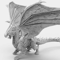 Dragon.2.jpg Download free STL file Dragon • 3D printable model, AtlanForge