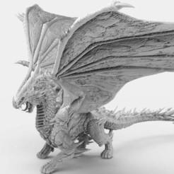 Dragon.2.jpg Télécharger fichier STL gratuit Dragon • Plan à imprimer en 3D, AtlanForge