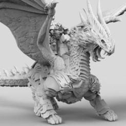 DragonAstartes.3.jpg Télécharger fichier STL gratuit Chevalier Dragon - Cérémonial • Plan pour impression 3D, AtlanForge