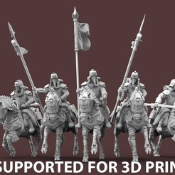 Expendables.PRESUPPORTED.jpg Download free STL file The Expendable Brigade - PRESSUPPORTED • 3D printable design, AtlanForge