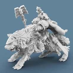 Priest1.jpg Download free STL file Viking Death Priest • 3D printing object, AtlanForge