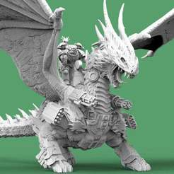 Dragon.1.jpg Download free STL file Dragon Knight - Battle Armed • 3D printing model, AtlanForge