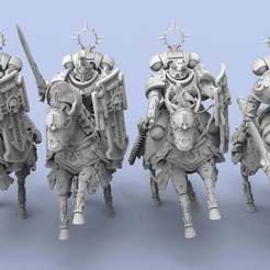 Imperials.1.jpg Download free STL file Imperial Cavalry • 3D printable template, AtlanForge
