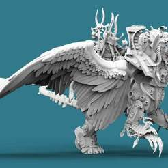 Sorcerer.1.jpg Download free STL file Egyptian Sphinx Sorcerer • 3D printable design, AtlanForge