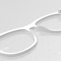 Capture.PNG Download free STL file Spectacles with possible glass mounting • 3D printing design, iFoxRage