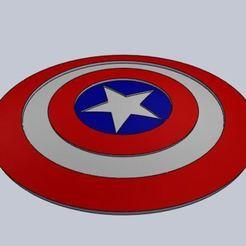 C1.JPG Télécharger fichier STL gratuit Le bouclier de Captain America • Modèle pour imprimante 3D, tastsumaru