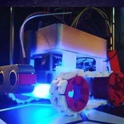 Oruga.jpg Download STL file Arduino Caterpillar Educational Robot • Model to 3D print, profaugustorossi