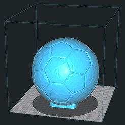 Download 3D printer designs Lamp Futbol Soccer , profaugustorossi