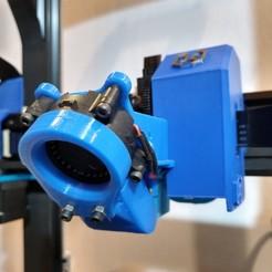 IMG_20200922_222143635_HDR.jpg Télécharger fichier STL Artillerie x1 Sidewinder et Génie - Ventilateur de conduit - Ventilateur 4020 • Modèle pour imprimante 3D, profaugustorossi