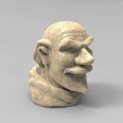Connery.jpg Download free STL file Guglielmo da Baskerville • Template to 3D print, JuanG3D
