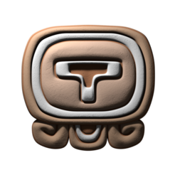 Download free 3D printing files Ik, mayan glyph, JuanG3D