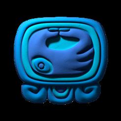07._Manik.png Download free STL file Manik, 7th mayan glyph • 3D printable template, JuanG3D