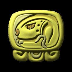 12._Eb.png Download free STL file Eb, mayan glyph • 3D printing object, JuanG3D