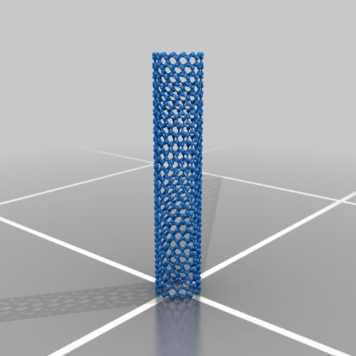 Download free STL file Nanotube • 3D printable design, JuanG3D