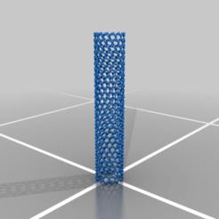 Nanotubo.png Download free STL file Nanotube • 3D printable design, JuanG3D