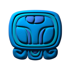 Download free 3D printer model Chuwen, mayan glyph, JuanG3D