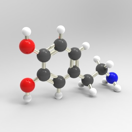 Download free STL file Dopamine • 3D printable template, JuanG3D