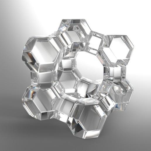 Download free STL file Faujasite • Model to 3D print, JuanG3D