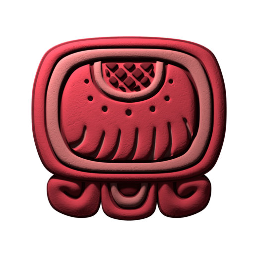 Download free STL file Imix, mayan glyph • 3D printing object, JuanG3D