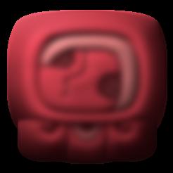 Download free STL file Kaban, mayan glyph • 3D printing design, JuanG3D