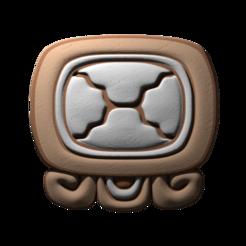 18._Etznab.png Download free STL file Etznab, mayan glyph • 3D printing model, JuanG3D