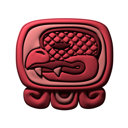 Download free STL file Chikchan, mayan glyph • 3D printable model, JuanG3D