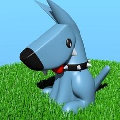 Doggy_grass.jpg Download free STL file Doggy • 3D printer design, JuanG3D