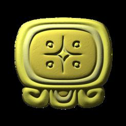 Descargar Modelos 3D para imprimir gratis Lamat, glifo maya, JuanG3D