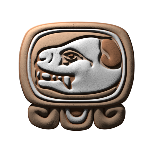 Download free STL file Ok, mayan glyph • 3D printer object, JuanG3D