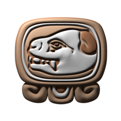 Download free 3D printer files Ok, mayan glyph, JuanG3D