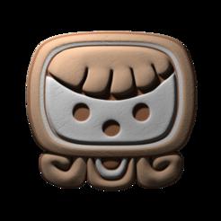 14._Ix.png Download free STL file Ix, mayan glyph • 3D printable model, JuanG3D