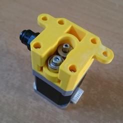 DSC_0042.jpg Download free STL file Bowden drive system • 3D printer design, VforVosh