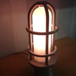 Télécharger objet 3D gratuit Lumière industrielle, VforVosh
