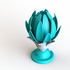 Télécharger fichier STL Lampe à fleurs Bijou de la couronne • Plan à imprimer en 3D, VforVosh