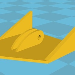 Download free 3D printer files Model floating anchor, Alexx