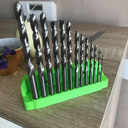 Download free 3D printing files Drill bit holder, Jdjxj_Hsxjxh