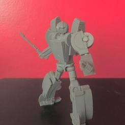 RCIMG5.jpeg Download STL file Great Aunt (not transformers Arcee) transformable, posable action figure • 3D printing object, prime_prints