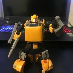 IMG_2473.jpeg Download STL file TRUKK NOT BUG (Netflix/Earthrise Bumblebee Upgrade) • 3D printable design, prime_prints