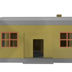 homec11.png Download STL file Opened House/ Casa Abierta with interior • 3D printable object, Rauul19