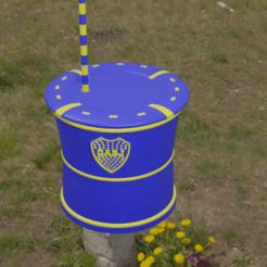 Descargar archivo STL Mate Boca Juniors • Diseño imprimible en 3D, Rauul19
