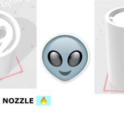Download 3D printer files Rolling Nozzle Alien, Raul19