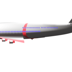 PLANE1.png Download STL file · avion boeing 747 / boeing 747 airplane · • 3D printing model, Rauul19