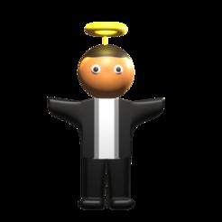 cura.png Download STL file muñeco/figura cura comunion ¬= communion priest doll / figure • 3D printer object, Rauul19